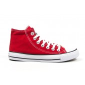 Кроссовки Converse high red