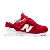 Кроссовки New Balance red-white