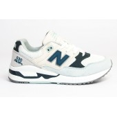Кроссовки New Balance white-blue