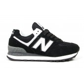Кроссовки New Balance black-white-grey