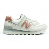 Кроссовки New Balance white-brown