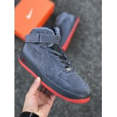 Nike Air Force Gray/Red
