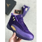 Кроссовки Nike Air Jordan 12 purple