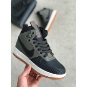 Nike Lunar Force 1 Duckboot  Black/Green