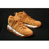 Air More Uptempo Flax/Flax/Gum Light Brown