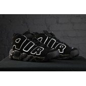 Air More Uptempo black/White