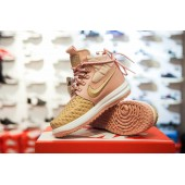 Lunar Force 1 Duckboot Particle Pink