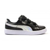 Кроссовки Puma Suede black-white