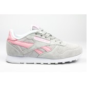 Кроссовки Reebok light grey -pink