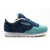 Кроссовки Reebok  dark blue-aqua