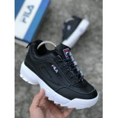 Fila Disruptor II Black/White черно-белые